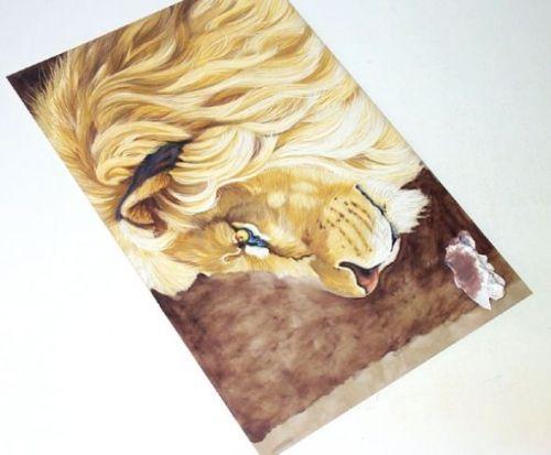 LionPencilBl